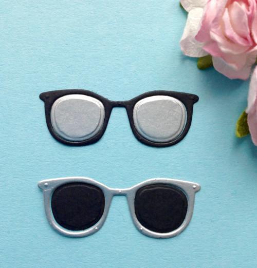 Brýle- sada 2ks , barva dle přání (výsek),CES 7