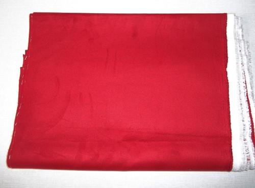 Semiš 90 x 40 cm, č. 1 b - červený