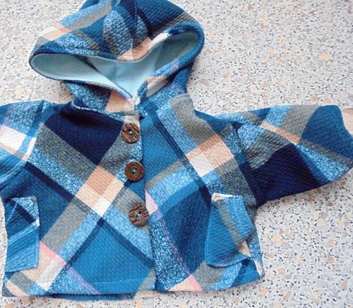 Krátký kabátek- 55-60 cm panenka