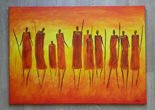 Obraz Masajové