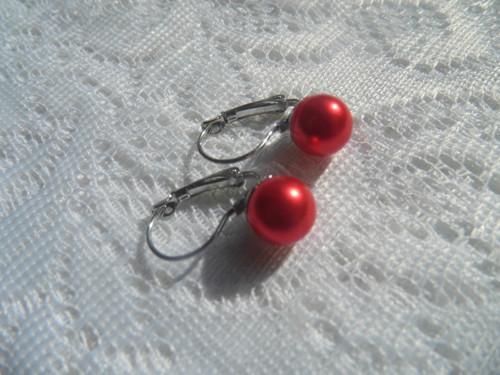 náušnice imitace perel