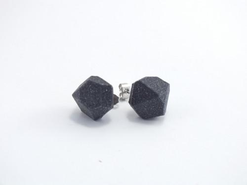 Náušnice krystal vertigo grey
