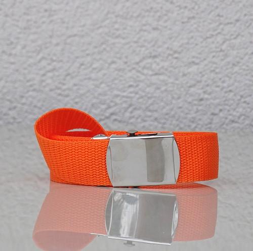 opasek se sponou - svítivě oranžový