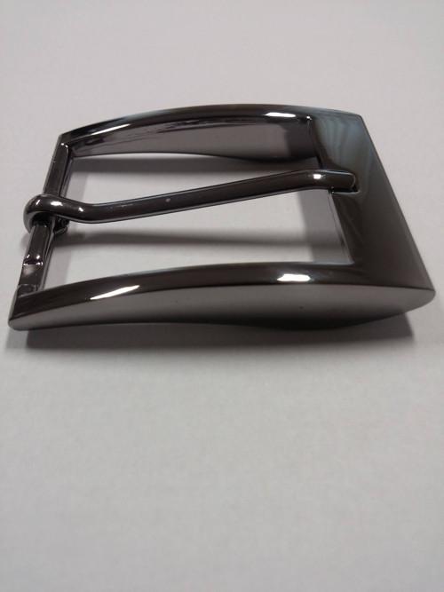 opasková spona, lesklý černý nikl, 3,5 cm
