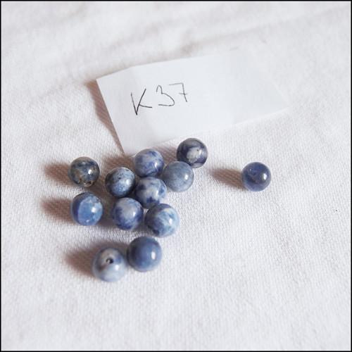 Sodalit K37 - 6 mm (5 ks)