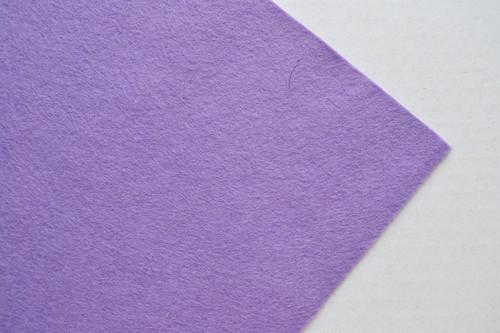 Plsť metráž lila (šířka 45 cm) barva č. 21)