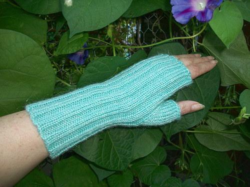 Pletené návleky na ruce - Loreta