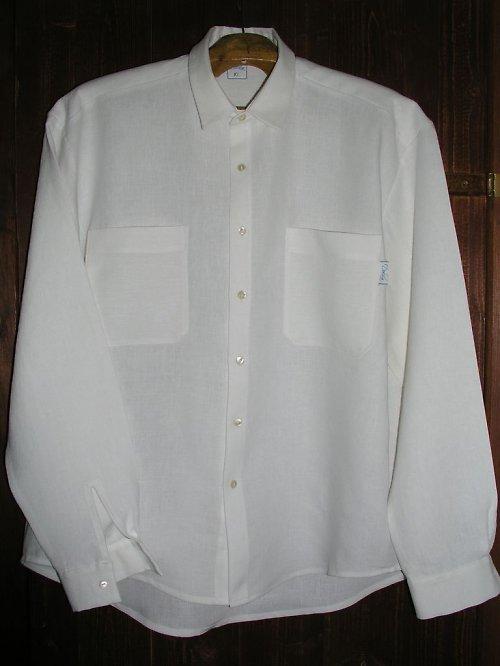 Pánská lněná košile ze 100% lnu L - XL