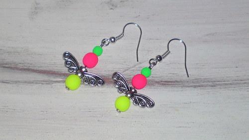 motýlek neonový