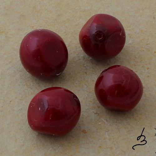 Voskové nugety červené, 9 ks - SLEVA