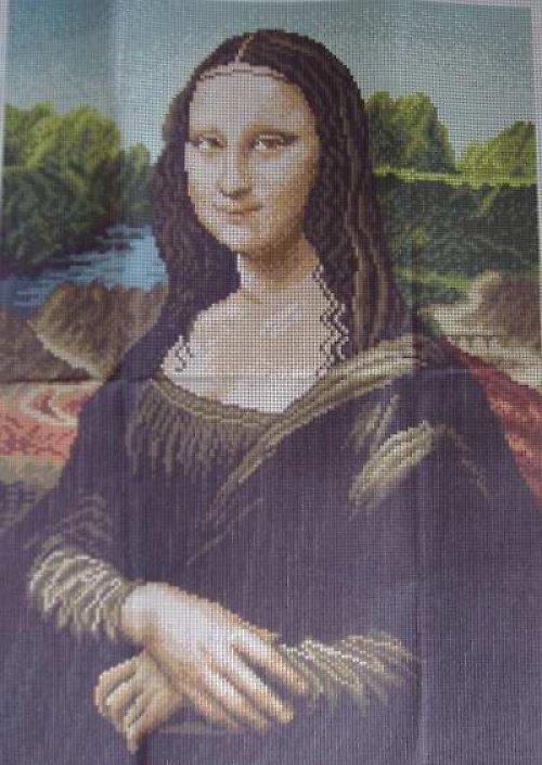 Obrázek na vyšívání 40 x 50 cm