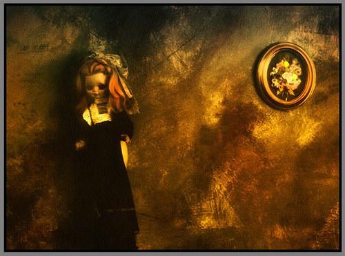 Panenka na zdi