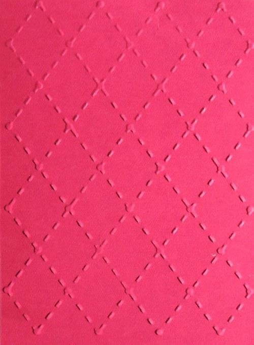 Prošívané kosočtverce - barva podle přání