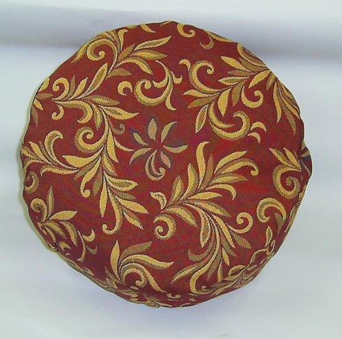 Taburetka Ornament červená,špaldo.slupky,10cm