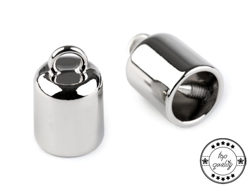 Kovová koncovka na šňůrky Ø9 mm (2ks)