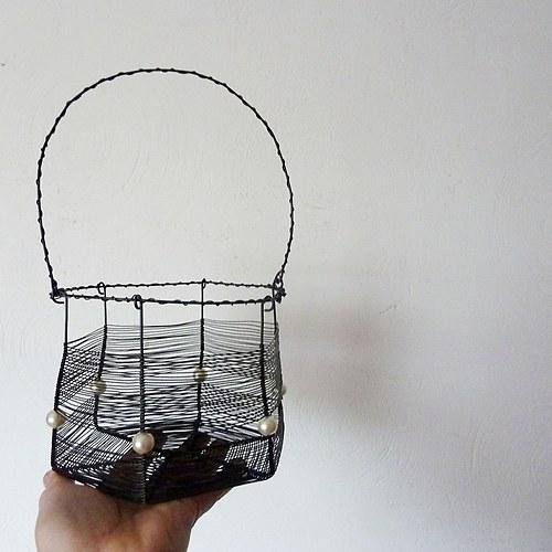 Košík perleťový- SLEVA