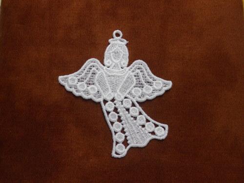 Vánoční ozdoba andělíček AP1394009