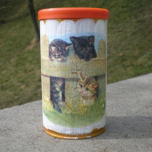 Kočičí - recy dóza
