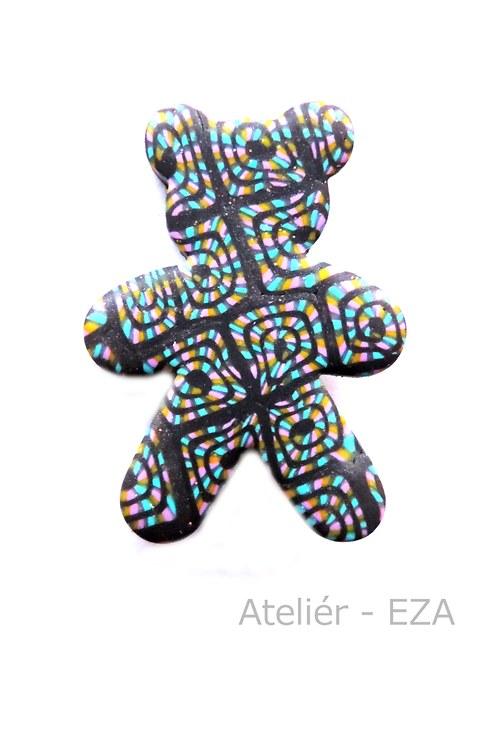 Originální brož - medvěd SLEVA ze 129 Kč na 65 Kč