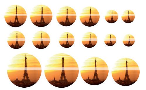 Návrh na pryskyřici - Eifelova věž č.1