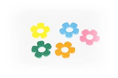 Pěnová guma-výseky - květina 15ks