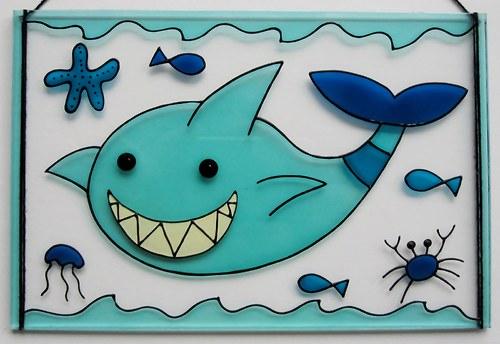 žralok - výprodej - původní cena 190,-
