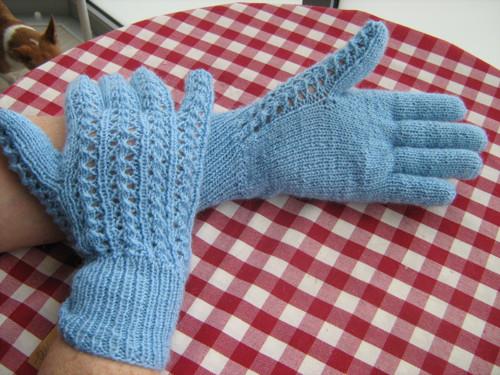 prstové rukavice