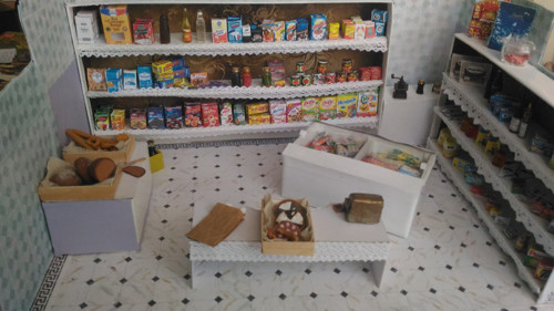 Potraviny, smíšené zboží - pro malé panenky
