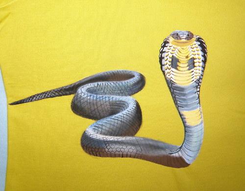 dámské tričko - kobra