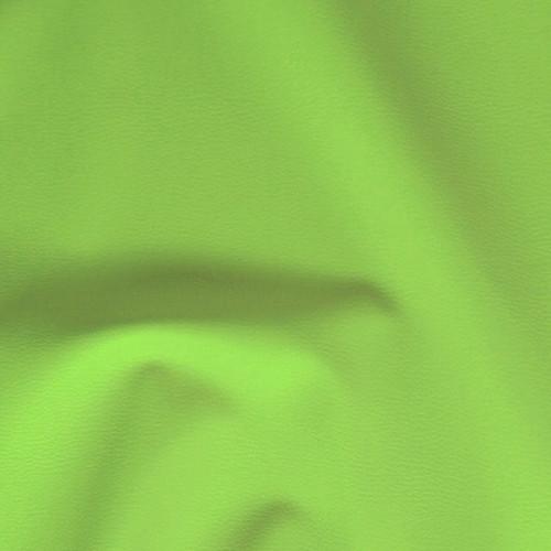 D56-50  Textilní kůže koženka ZELENÁ NEON, á 50cm