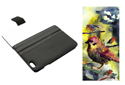 Ptačí - iPhone 6 Obal Koženka