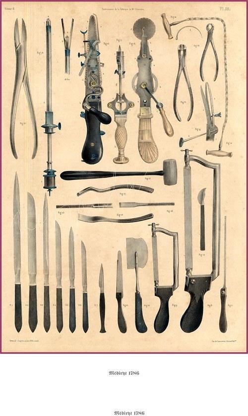Chirurgické nástroje I