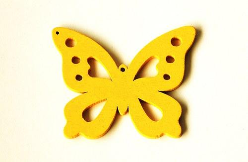 dřevění motýlci- žlutí
