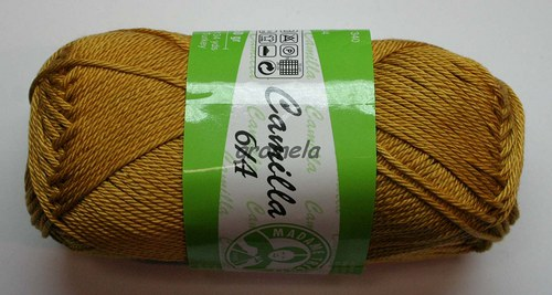 Camilla 6340 (hořčicová)