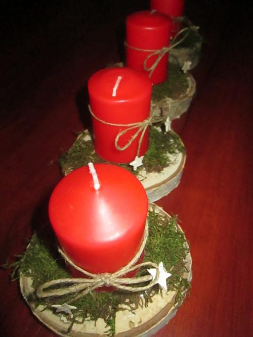 Adventní svícínky