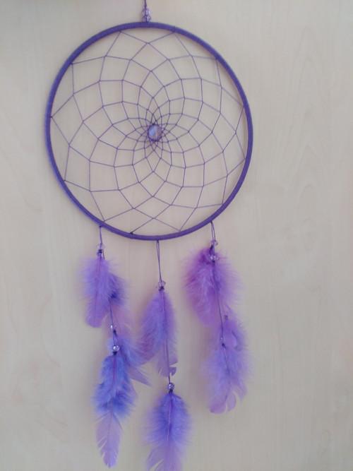 Lapač snů fialový
