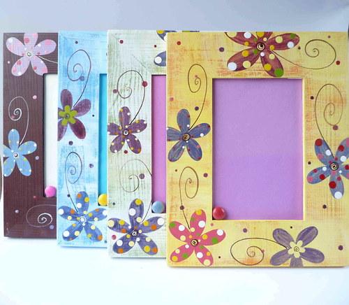 speciální mailový rámeček - s květy