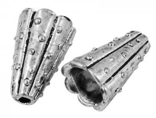 3002208/Masivní kaplík s tečkami, 1 ks