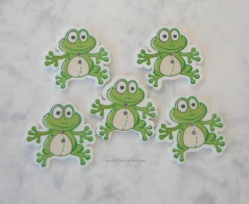 Knoflík žába