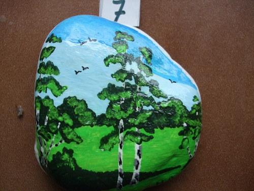 Malovaný kámen-Březový háj