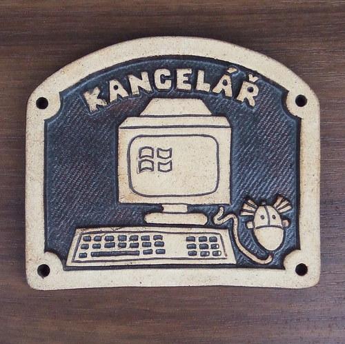 Kachlík č.57 - Kancelář s počítačem