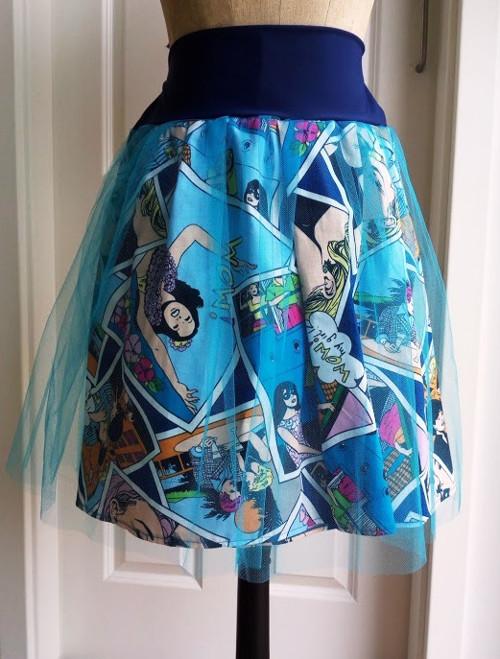 sukně COMICS (pas 78 cm +)