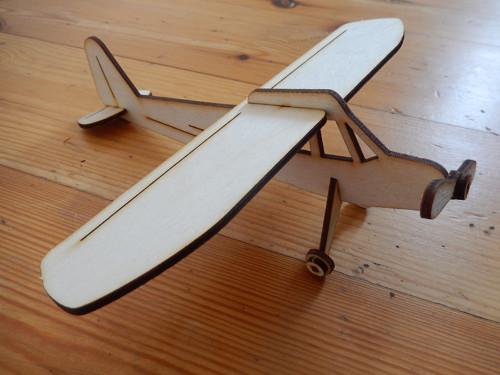 Stavebnice letadlo - kreativní rozvoj