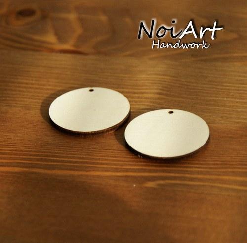Základ na náušnice kruh 4,5 cm