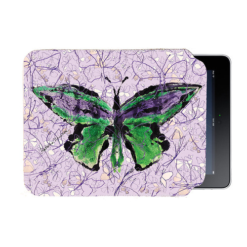 MOTYL VE FIALOVE - Leskly, Luxusni iPad obal