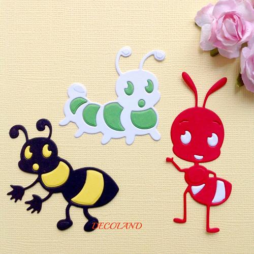 Hmyz- sada 3ks , barva dle přání(výsek) MOT 30