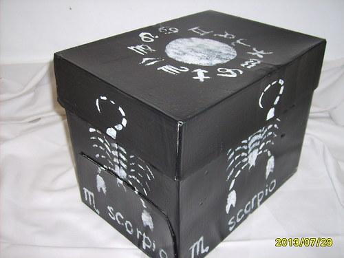 & Úložná krabice-znamení zvěrokruhu ŠTÍR &
