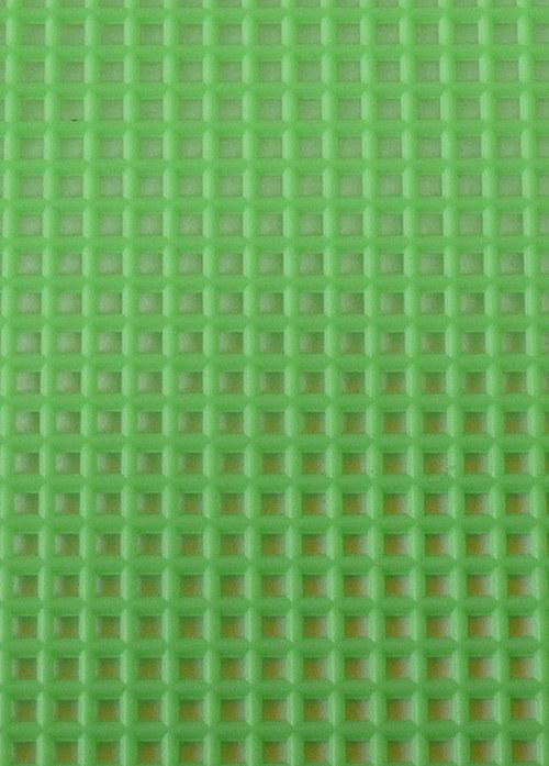 Plastová kanava I - zelená neon