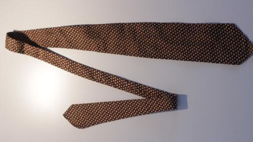 Starožitná kravata Leka čisté hedvábí