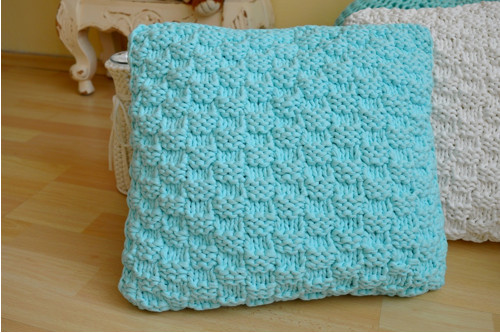 Pletený polštář MINT
